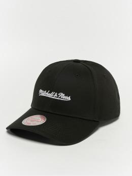 Mitchell & Ness Snapback Cap Team Logo Low Pro schwarz