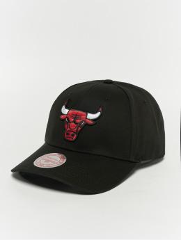 Mitchell & Ness Snapback Cap Team Logo Low Pro Chicago Bulls schwarz