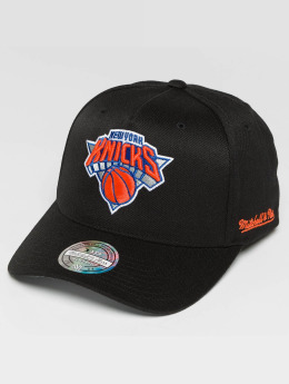 Mitchell & Ness Snapback Cap Curved NY Knicks schwarz