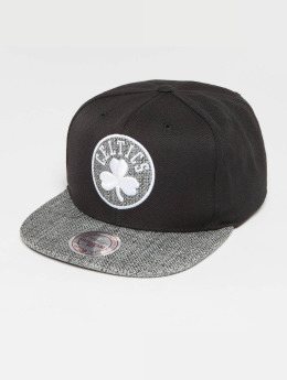 Mitchell & Ness Snapback Cap Woven TC NBA Boston schwarz