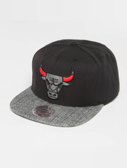 Mitchell & Ness Snapback Cap Woven TC NBA Chicago Bulls schwarz