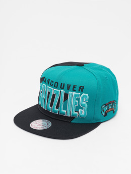 Mitchell & Ness HWC Sharktooth Vancouver Grizzlies Snapback Cap Black
