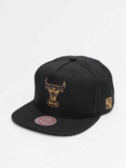 Mitchell & Ness Snapback Cap HWC Cork Chicago Bulls schwarz