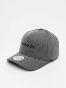 Mitchell & Ness Snapback Cap Own Brand Washed Denim 110 Curved schwarz
