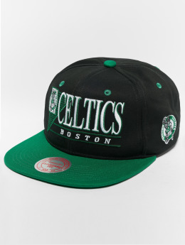 Mitchell & Ness HWC Bosten Celtics Horizon Snapback Cap Black/Green