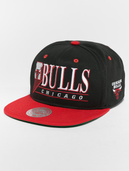 Mitchell & Ness HWC Chicago Bulls Horizon Snapback Cap Black/Red