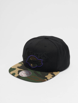 Mitchell & Ness Woodland LA Lakers Blind Snapback Cap Black