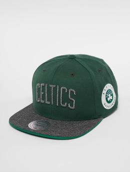 Mitchell & Ness Snapback Cap HWC Bosten Celtics Melange Patch verde
