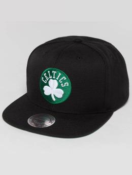 Mitchell & Ness snapback cap Wool Solid NBA Boston Celtics zwart