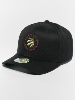 Mitchell & Ness snapback cap NBA Toronto Raptors Luxe 110 Curved zwart