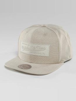 Mitchell & Ness Snapback Caps Italian Washed beige