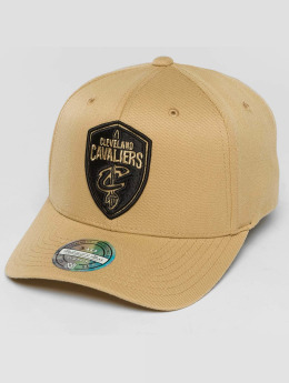 Mitchell & Ness Snapback Caps The Sand And Black 2-Tone NBA Cleveland Cavaliers beige