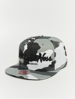 Mitchell & Ness Snapback Caps Pinscript camouflage