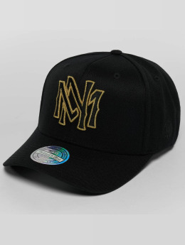 Mitchell & Ness The Black And Golden 110 Snapback Cap Black