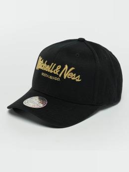 Mitchell & Ness Snapback Caps The Black And Golden 110 czarny