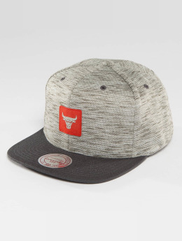 Mitchell & Ness Snapback Caps NBA Brushed Melange Chicago Bulls grå