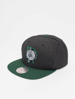 Mitchell & Ness Snapback Caps NBA Bosten Celtics Woven Reflective grå