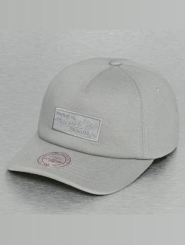 Mitchell & Ness Snapback Caps Throwback harmaa
