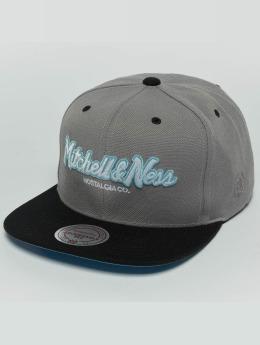 Mitchell & Ness Snapback Caps Weekend 2 Flat Visor harmaa