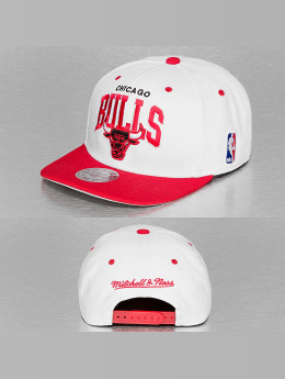 Mitchell & Ness Snapback Caps Chicago Bulls hvit