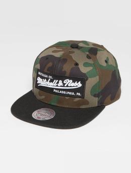Mitchell & Ness Snapback Caps Own Brand Box Logo kamufláž