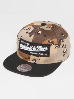 Mitchell & Ness Box Logo Snapback Cap Desert Storm Camo/Black