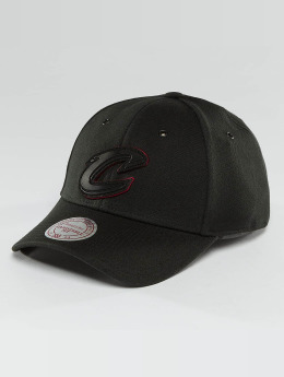 Mitchell & Ness Snapback Caps NBA Hot Stamp Contrast Cleveland Cavaliers musta