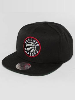 Mitchell & Ness Snapback Caps Wool Solid NBA Toronto Raptors musta