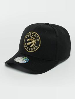 Mitchell & Ness Snapback Caps The Black And Golden 110 Toronto Raptors musta