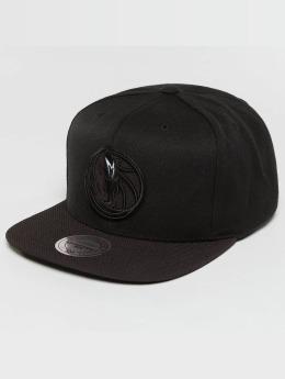 Mitchell & Ness Snapback Caps Full Dollar Dallas Mavericks musta