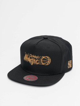 Mitchell & Ness Snapback Caps HWC Cork Orlando Magic musta