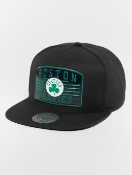 Mitchell & Ness Snapback Caps NBA Bosten Celtics Weald Patch musta
