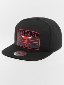 Mitchell & Ness Snapback Caps NBA Chicago Bulls Weald Patch musta