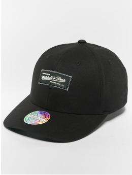 Mitchell & Ness Snapback Caps NBA Own Brand Biowashed Zig Zag 110 Curved musta