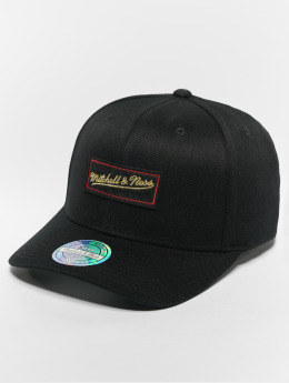 Mitchell & Ness Snapback Caps Own Brand Luxe 110 Curved musta