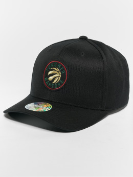 Mitchell & Ness Snapback Caps NBA Toronto Raptors Luxe 110 Curved musta