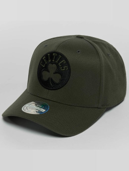 Mitchell & Ness Snapback Caps The Olive & Black 2 Tone Logo 110 oliivi