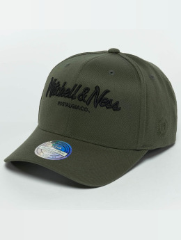 Mitchell & Ness Snapback Caps The Olive & Black 2 Tone Logo 110 oliven