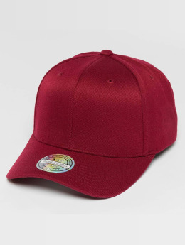 Mitchell & Ness Snapback Caps Blank Flat Peak 110 Curved punainen