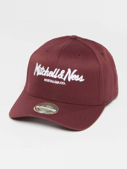 Mitchell & Ness Snapback Caps Own Brand Pinscript High Crown 110 punainen