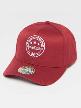Mitchell & Ness Snapback Caps The Burgundy 2-Tone Visor Sticker 110 rød
