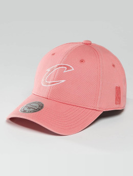 Mitchell & Ness Snapback Caps NBA Pastel 2-Tone Logo Cleveland Cavaliers roosa