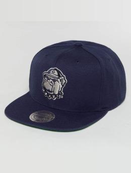 Mitchell & Ness Snapback Caps Wool Solid NCAA xXGeorge townXx sininen
