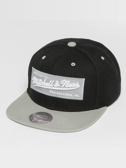 Mitchell & Ness Snapback Caps Box Logo svart