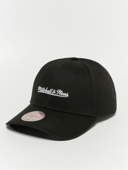 Mitchell & Ness Snapback Caps Team Logo Low Pro svart