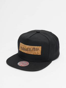 Mitchell & Ness Snapback Caps Cork Own Brand svart
