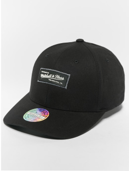 Mitchell & Ness Snapback Caps NBA Own Brand Biowashed Zig Zag 110 Curved svart