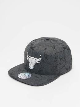 Mitchell & Ness Snapback Caps NBA Chicago Bulls Marble szary