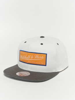 Mitchell & Ness Snapback Caps Weekend 1 Flat Visor valkoinen