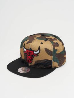 Mitchell & Ness Snapback Woodland Chicago Bulls Cover maskáèová